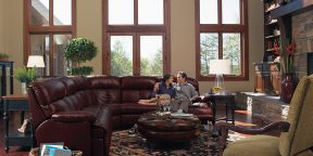 Flexsteel Triton Sectional with Recliners 3098