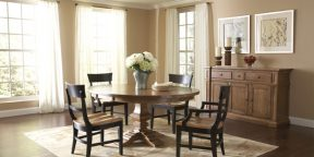 Nichols & Stone Winchester Table, Winchester Lodge Chairs and Westcott Sideboard