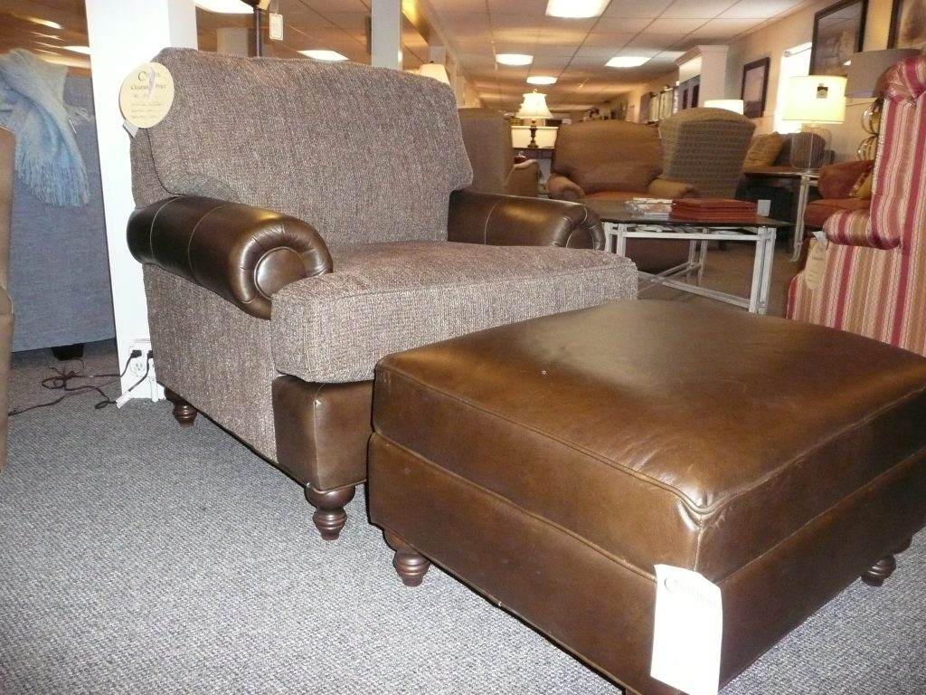 Chatham Chair and Ottoman by King Hickory