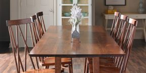 Gat Creek Landing Table and Addison Chairs