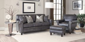 Smith Brothers 234-B-room-leather-group-withpillows